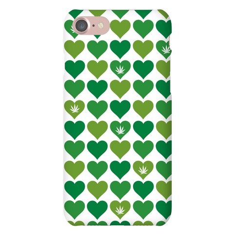 Weed Heart Case Phone Case