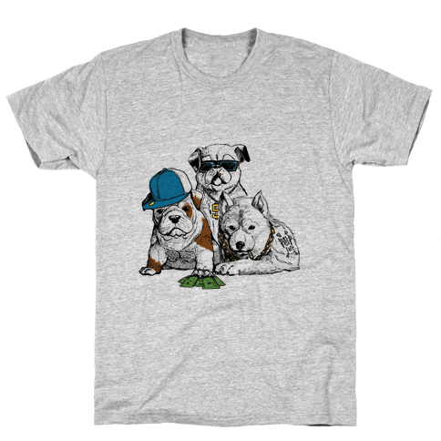Pup Life Mens T-Shirt