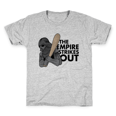The Empire Strikes Out Kids T-Shirt