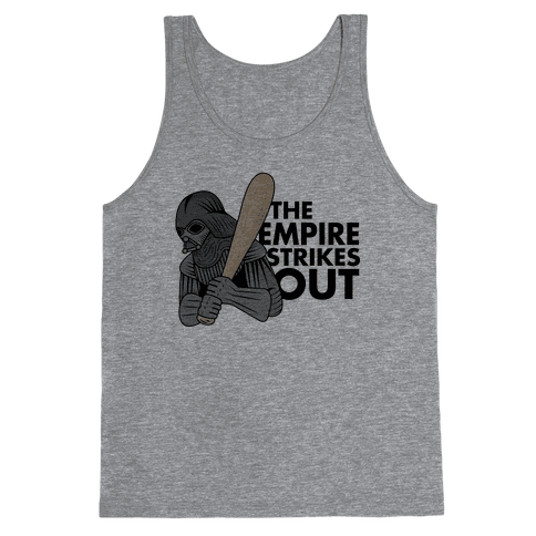 The Empire Strikes Out Tank Top