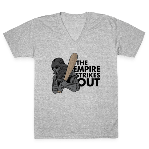 The Empire Strikes Out V-Neck Tee Shirt