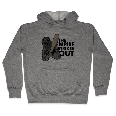 The Empire Strikes Out Hooded Sweatshirt