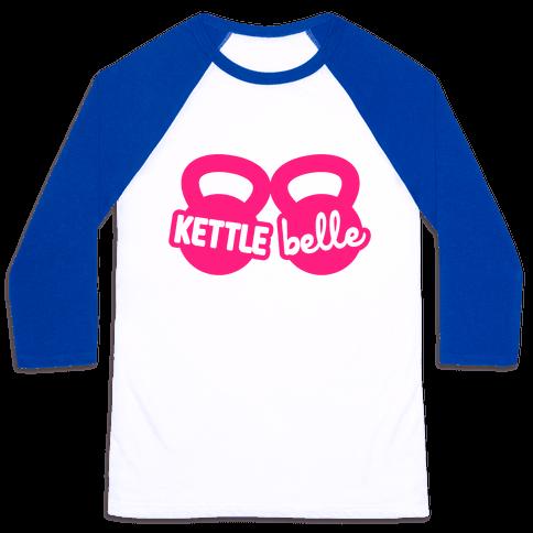 Kettle Belle Crop Top Baseball Tee