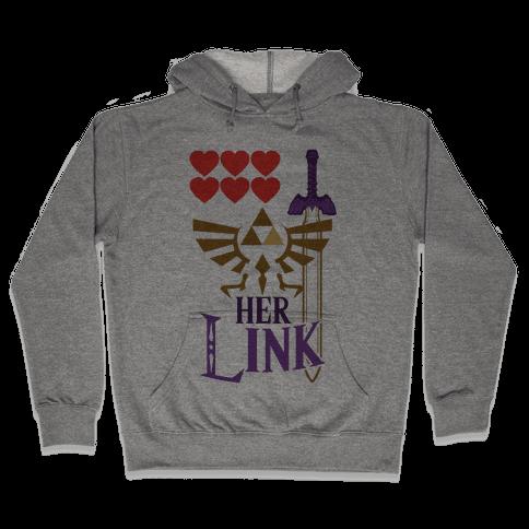 Her Link (Part 2) Hooded Sweatshirt
