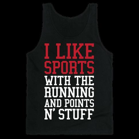 I Like Sports Tank Top