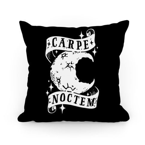 Carpe Noctem Pillow