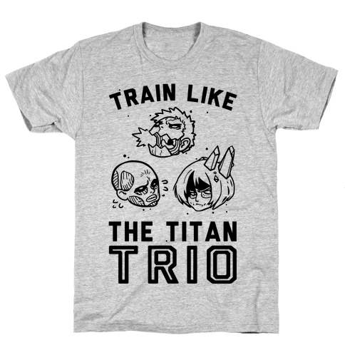 Train Like The Titan Trio Mens T-Shirt