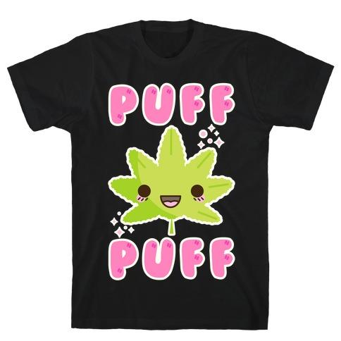 Puff Puff The Kawaii Pot Leaf T-Shirt