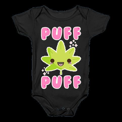 Puff Puff The Kawaii Pot Leaf Baby Onesy