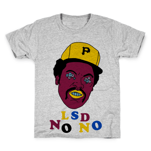 LSD No-No Hitter (Baseball) Kids T-Shirt