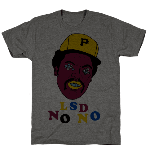 LSD No-No Hitter (Baseball) Mens T-Shirt