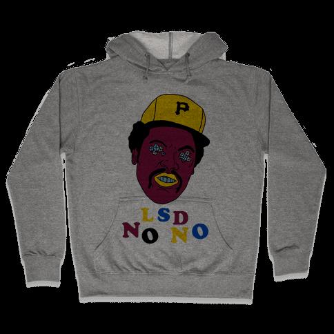 LSD No-No Hitter (Baseball) Hooded Sweatshirt
