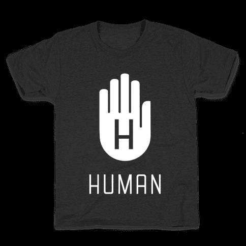 The HUMAN Hand Kids T-Shirt