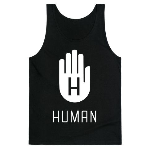 The HUMAN Hand Tank Top