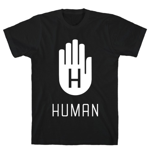 The HUMAN Hand Mens T-Shirt