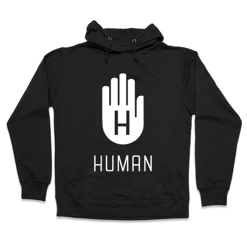 The HUMAN Hand Hooded Sweatshirt