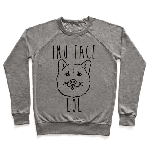 Inu Face Lol Pullover