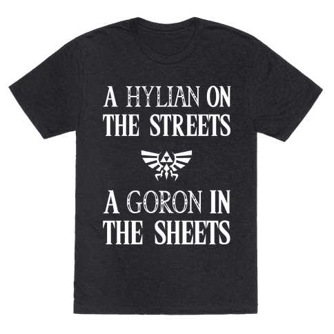 Hylian On The Streets Goron In The Sheets