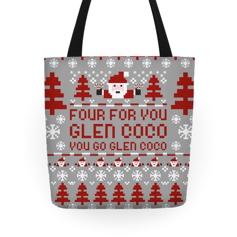 Four For You Glen Coco You Go Glen Coco Tote