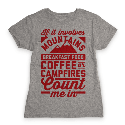 Count Me In Womens T-Shirt