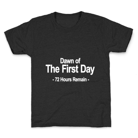 Dawn Of The First Day Kids T-Shirt
