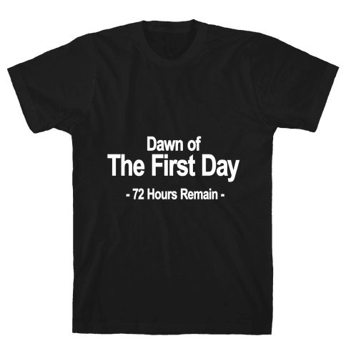 Dawn Of The First Day Mens T-Shirt