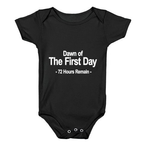 Dawn Of The First Day Baby Onesy