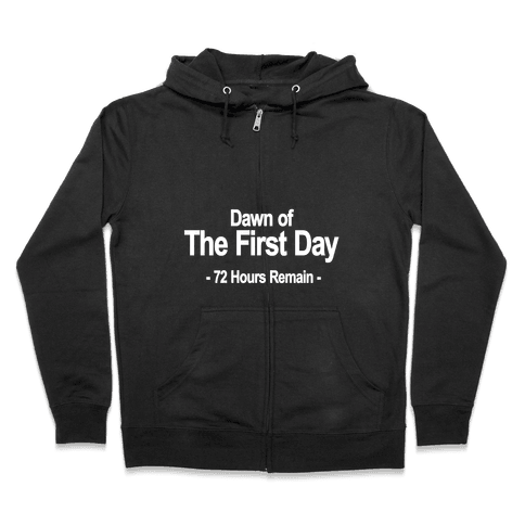 Dawn Of The First Day Zip Hoodie