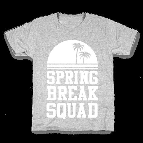 Spring Break Squad Kids T-Shirt
