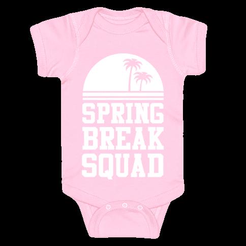 Spring Break Squad Baby Onesy