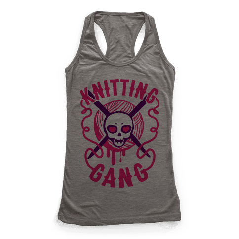 Knitting Gang Racerback Tank Top