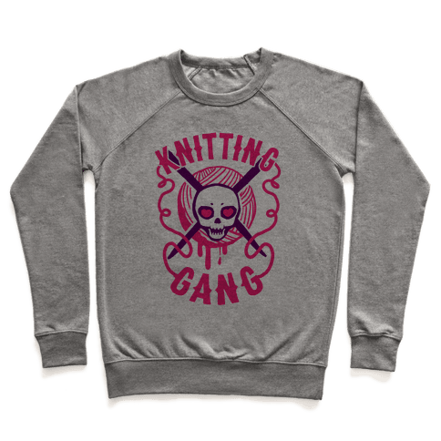 Knitting Gang Pullover