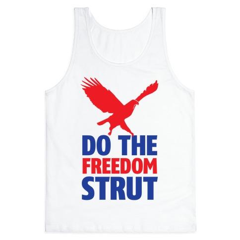 Freedom Strut Tank Top