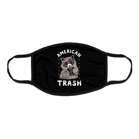 American Trash Flat Face Mask