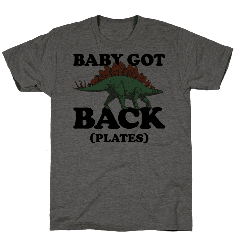 Baby Got Back Plates Mens T-Shirt