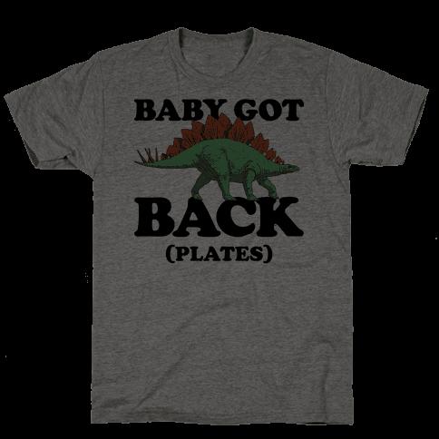 Baby Got Back Plates Mens T-Shirt
