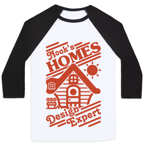 Nook's Homes Design Expert Baseball Tee