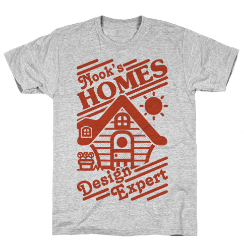 Nook's Homes Design Expert Mens T-Shirt