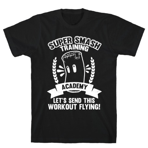 Super Smash Training Academy Mens T-Shirt