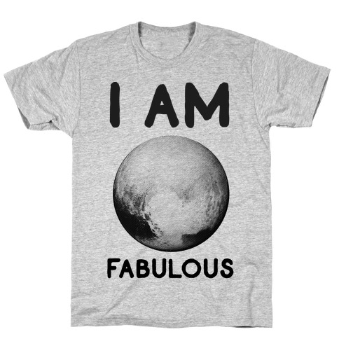 Pluto I Am Fabulous T-Shirt