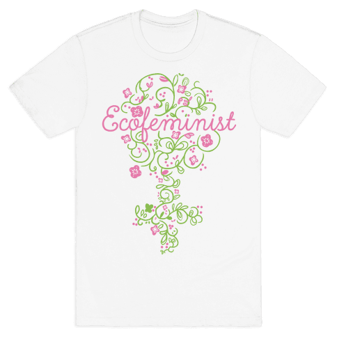 EcoFeminist Mens T-Shirt