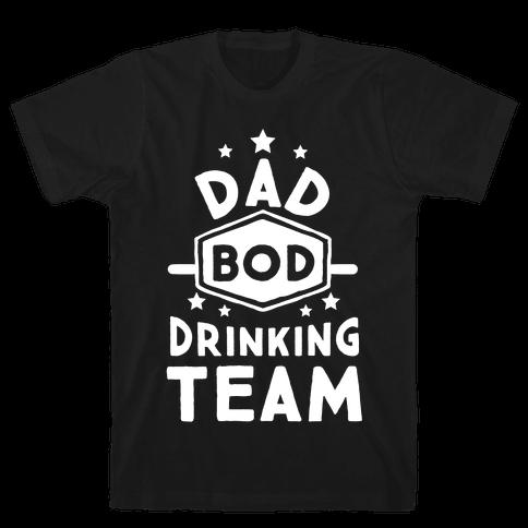 Dad Bod Drinking Team Mens T-Shirt