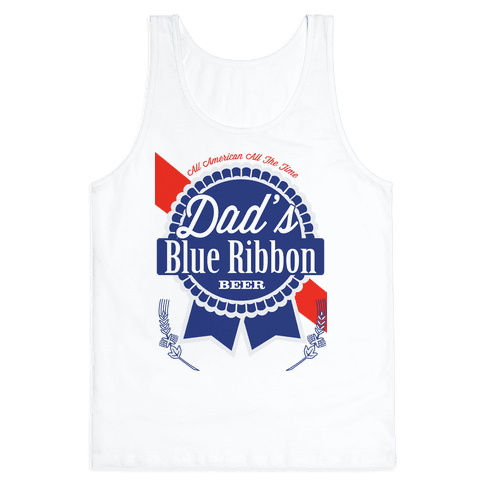 Dad's Blue Ribbon Tank Top