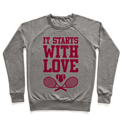 It Starts With Love Pullover