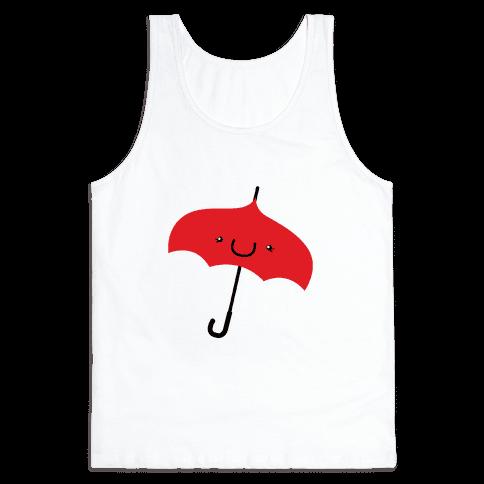 Red Umbrella Tank Top