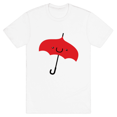 Red Umbrella Mens T-Shirt