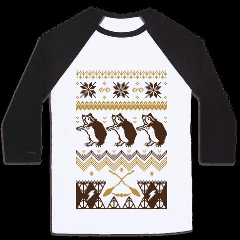 Hogwarts Ugly Christmas Sweater: Hufflepuff