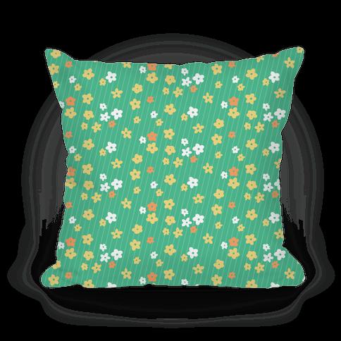 Little Floral Meadow Pattern (Green)