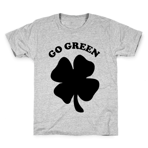 Go Green Kids T-Shirt