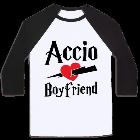 Accio Boyfriend Baseball Tee